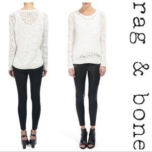 Rag & Bone Kaitlyn Crochet Sweater